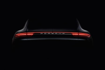 Courage changes everything: The new Panamera is coming.