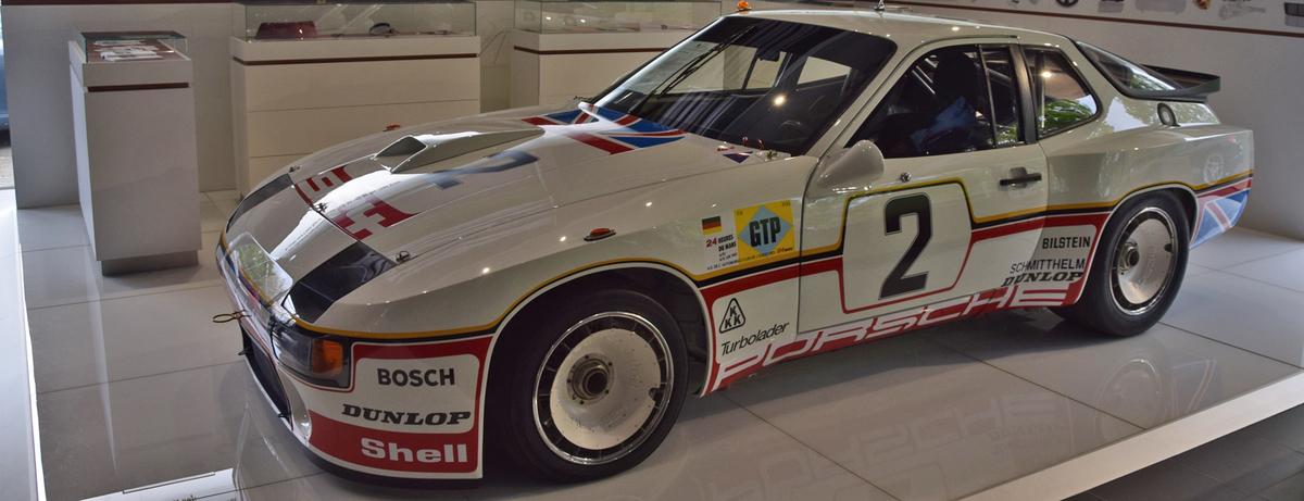 Porsche Centre Hatfield showcases the famous 924 GTP