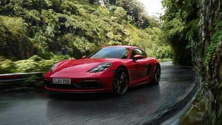 Apex Predator. The new 718 Cayman GTS.