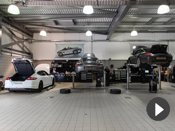 Video: Welcome to Porsche Centre Hatfield from our Aftersales Manager, Dean Kiedyk