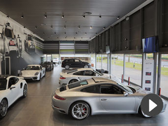 Video: Welcome to Porsche Centre Hatfield from our General Sales Manager, Steve Dickson